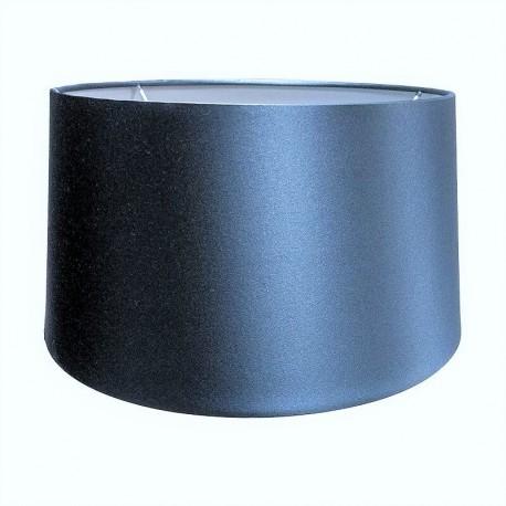 Niebieski jedwabny abażur na lampę stołową