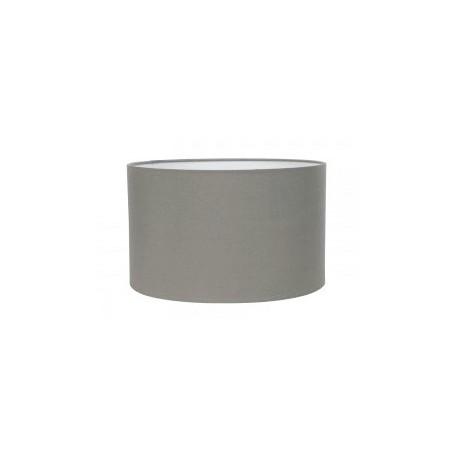Szary abażur do lampy stołowej typu cylinder