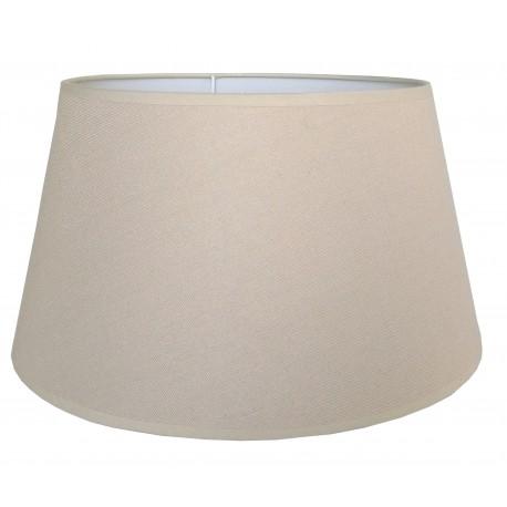 Abażur Ø 45 do lampy podłogowej naturalny beż