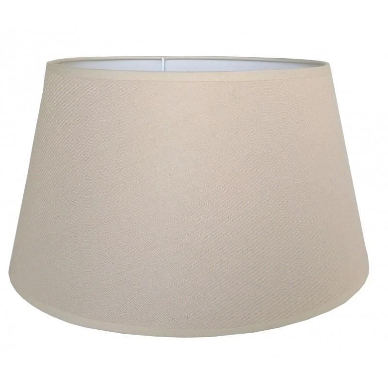 Abażur Ø 40 do lampy podłogowej naturalny beż ELEGANZA