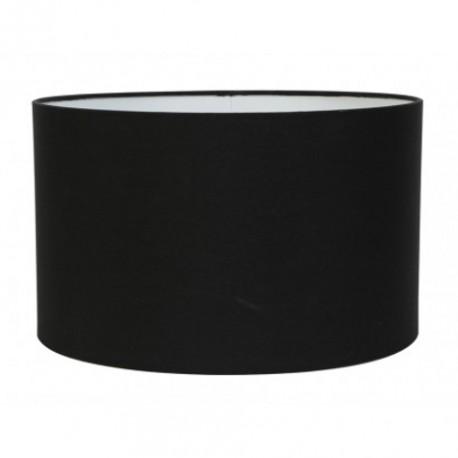 Czarny abażur Ø 40 cylinder lampa podłogowa