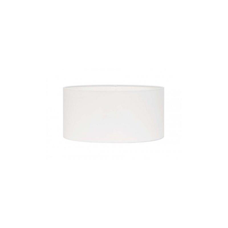 Biały abażur cylinder 40 lampa podłogowa