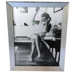 Obraz w lustrzanj ramie Marilyn Monroe 70X90