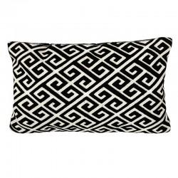Luksusowa haftowana dekoracyjna poduszka 30x50 do sypialni New York