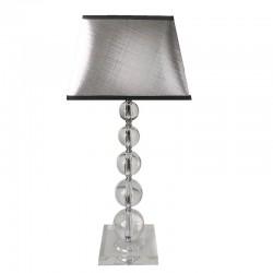 Lampa przeźroczyste kule do sypialni New York