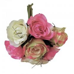 Bukiet małych różyczek do romantycznej sypialni