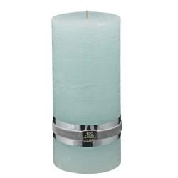 Lene Bjerre dekoracyjna świeca w kolorze miętowym