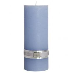 Lene Bjerre dekoracyjna świeca h20 w kolorze błękitnym