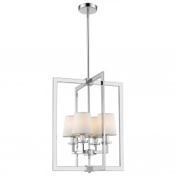Elegancka lampa wisząca nad stół z abażurkami New York