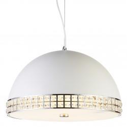 Elgancka i nowoczesna lampa sufitowa z kryształkami