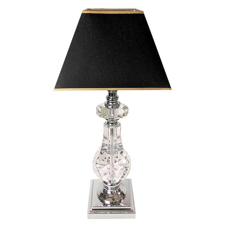 Luksusowa kryształowa lampa stojaca h50 do wnętrz New York Glamour