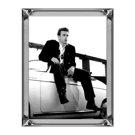 Obraz w lustrzanej ramie Modern Classic James Dean