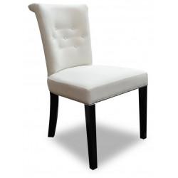 Jasne eleganckie krzesło tapicerowane Glamour-producent