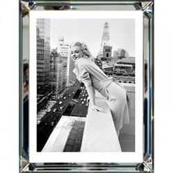 Obraz w lustrzanej ramie 70X90 Marilyn Monroe At the Embassy