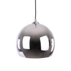 Luksusowa nowoczesna lampa wisząca nad wyspę, stół srebrny połysk