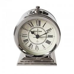 Luksusowy zegar stojacy budzik na stolik nocny Hamptons