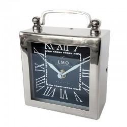 Niklowany zegarek do sypilani New York Hamptons