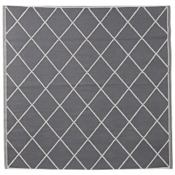 Lene Bjerre szaro biały dywan 150x150 Modern Classic