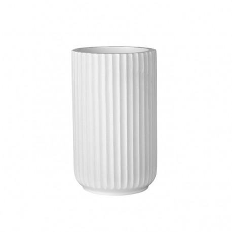 Lene Bjerre nowoczesny biały kubek na szczoteczki do łazienki