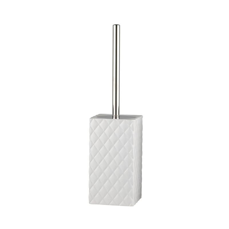 Pikowana biała szczotka WC Lenne Bjerre