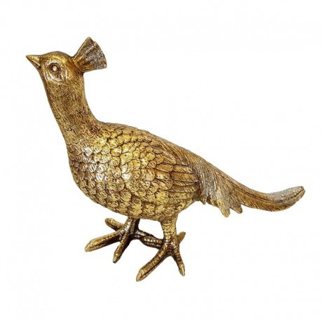 Elegancki złoty ptak feniks Art Deco