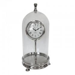 Duży zegar na kominek w stylu Hamptons