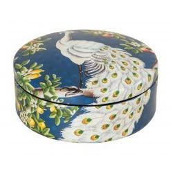 Luksusowa ceramiczna szkatułka do sypialni łazienki Art Deco