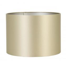 Duży  złoty abażur cylinder do lampy stołowej lub podłogowej