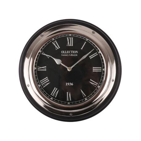 Zegar do jadalni w stylu Hamptons