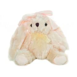 Luksusowa przytulanka dł25cm pluszak króliczek
