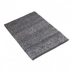 Gruby bawełniany dywan w szarym kolorze 140x200