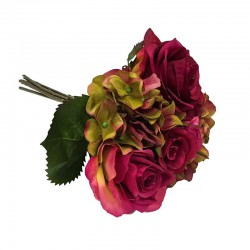 Bukiet dekoracyjny róża/hortensja