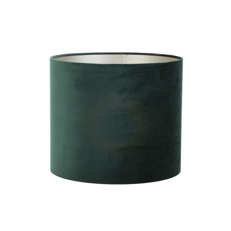 Do lampy podłogowej welurowy Ø 40 modny abażur ciemna zieleń