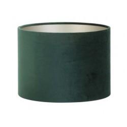 Do lampy stołowej welurowy Ø 30 modny abażur ciemna zieleń