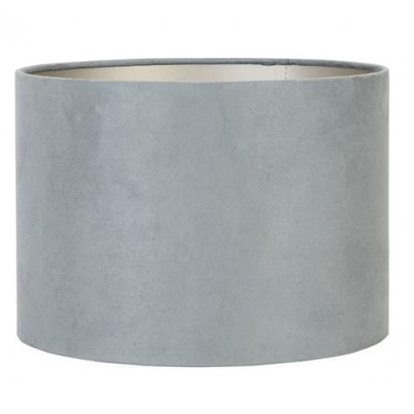 Luksusowy welurowo zamszowy abażur Ø40 lampa stojaca podłogowa