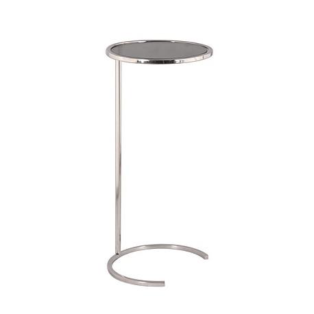 Niklowany stolik do kanapy /boczny