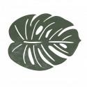 Modna zielona podkładka 35x45 pod talerz w klimacie Etno