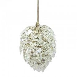 Luksusowa lampa wiszące kryształowe sople