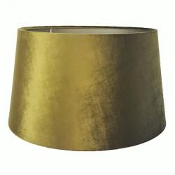 Do lampy podłogowej Ø40 abażur welurowy złota zieleń art deco