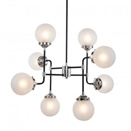 Nowoczesna lampa żyrandol typu bistro