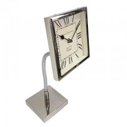 Oryginalny zegar na wyginanej nóżce