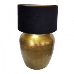 Duża lampa stołowa Gold Hampton