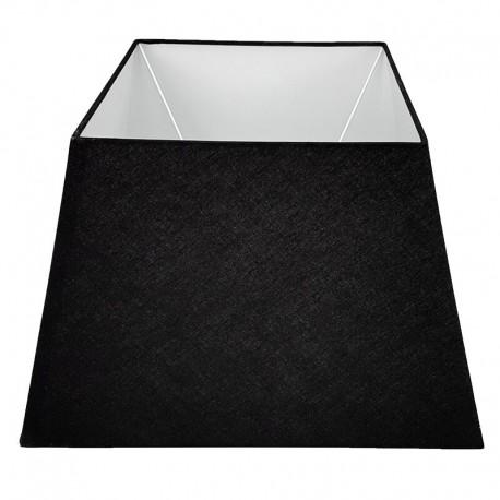 Duży biały prostokatny abażur lampa podogowa