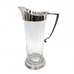 Piękny szklany dzbanek na wodę lub sok New York