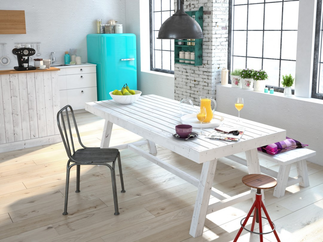 Kuchnia w stylu skandynawskim dodatki i dekoracje blog villadecor Home design sklep online