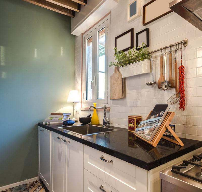 Kuchnia w stylu vintage Inspiracje, ozdoby i dodatki   -> Inspiracje Kuchnia Z Salonem