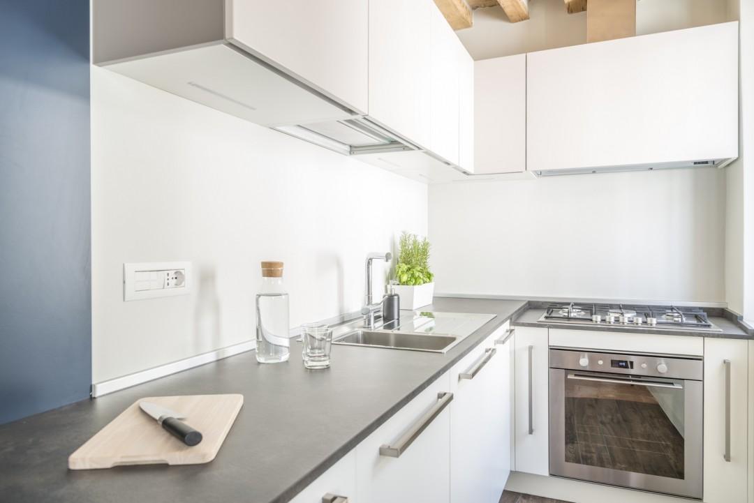 Nowoczesna Biała Kuchnia W Bloku Urządzamy Małą Kuchnię Blog