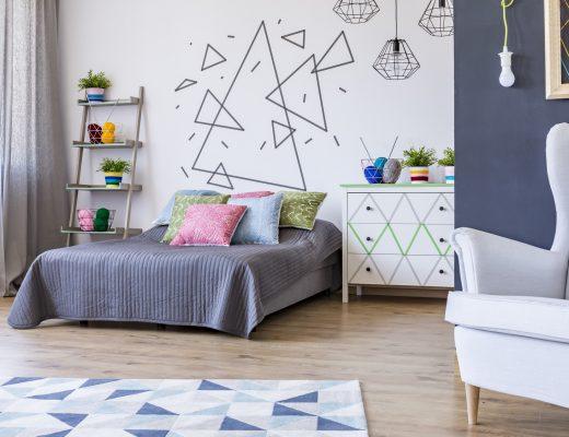 nowoczesne chodniki do sypialni